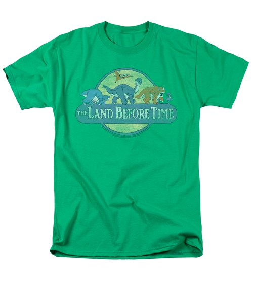 Land Before Time - Retro Logo Men's T-Shirt  (Regular Fit) by Brand A