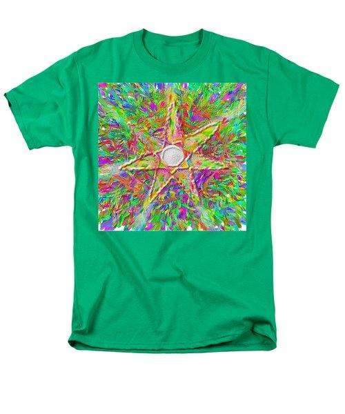 Mandala 1 22 2015 Men's T-Shirt  (Regular Fit) by Hidden  Mountain
