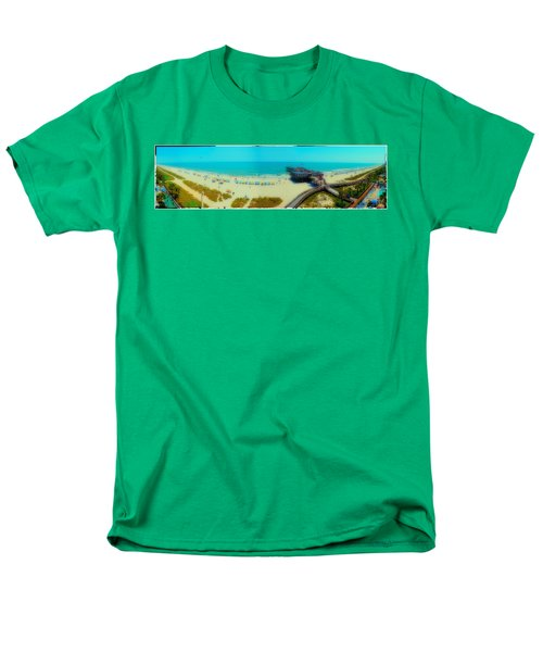 Men's T-Shirt  (Regular Fit) featuring the photograph Myrtle Beach South Carolina by Alex Grichenko
