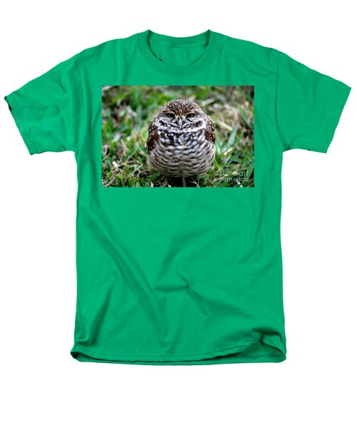 Men's T-Shirt  (Regular Fit) featuring the photograph Owl. Best Photo by Oksana Semenchenko