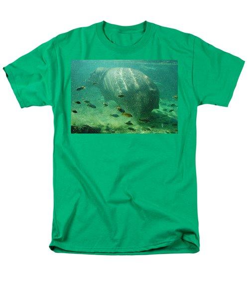 Men's T-Shirt  (Regular Fit) featuring the photograph River Horse by David Nicholls