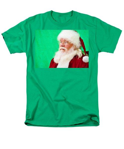 Santa Men's T-Shirt  (Regular Fit) by Ludwig Keck