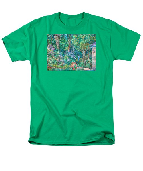 Men's T-Shirt  (Regular Fit) featuring the painting Taking A Break by Kendall Kessler