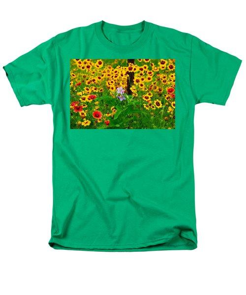 Texas Spring Delight Men's T-Shirt  (Regular Fit) by Lynn Bauer