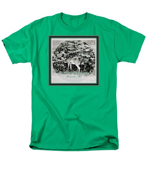 The Magic Of Christmastime In A Woodland Men's T-Shirt  (Regular Fit) by Kimberlee Baxter