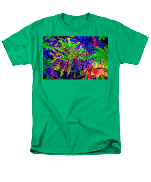 Men's T-Shirt  (Regular Fit) featuring the photograph Tropicals Gone Wild by David Lawson