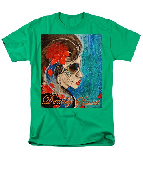 Deadly Sweet Men's T-Shirt  (Regular Fit) by Sandro Ramani