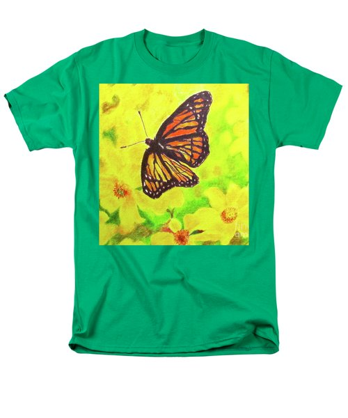 Free To Fly Men's T-Shirt  (Regular Fit) by Beth Saffer