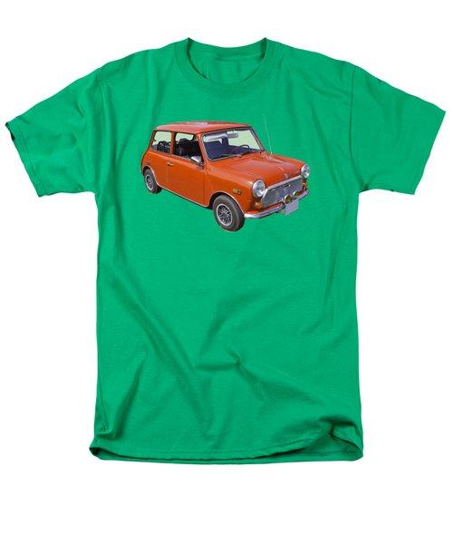 Red Mini Cooper Men's T-Shirt  (Regular Fit) by Keith Webber Jr
