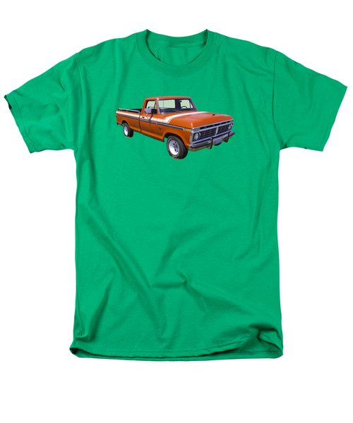1975 Ford F100 Explorer Pickup Truck Men's T-Shirt  (Regular Fit) by Keith Webber Jr