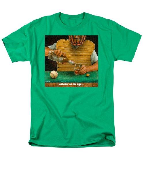 Catcher In The Rye... Men's T-Shirt  (Regular Fit) by Will Bullas