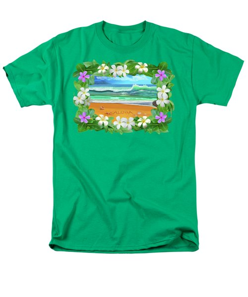 Aloha Hawaii Men's T-Shirt  (Regular Fit) by Glenn Holbrook