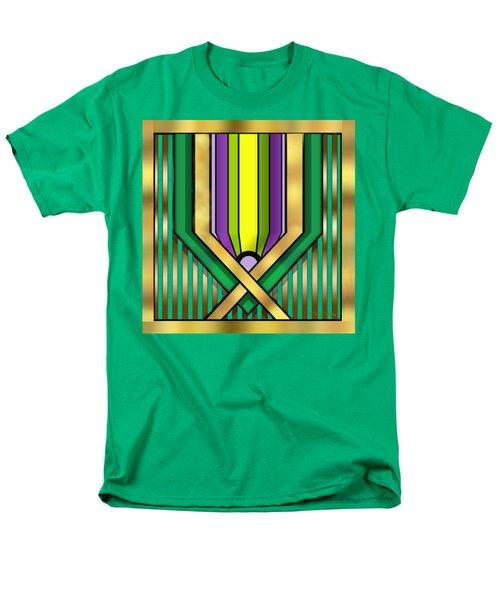 Art Deco 14 A Transparent Men's T-Shirt  (Regular Fit) by Chuck Staley
