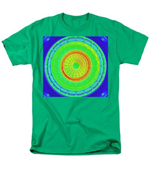 Austin Dome - B Men's T-Shirt  (Regular Fit) by Karen J Shine