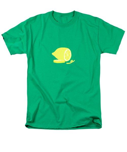 Big Lemon Flavor Men's T-Shirt  (Regular Fit) by Little Bunny Sunshine
