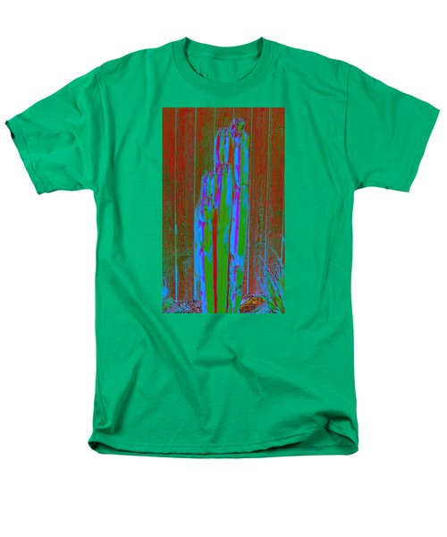 Men's T-Shirt  (Regular Fit) featuring the photograph Cactus Stand by M Diane Bonaparte