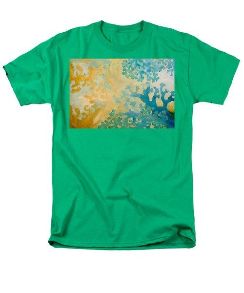 Cool Coral Men's T-Shirt  (Regular Fit) by Dina Dargo