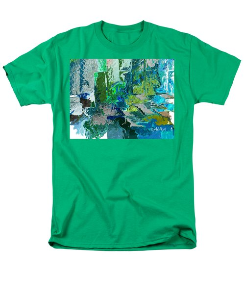 Courtyard Men's T-Shirt  (Regular Fit) by Alika Kumar