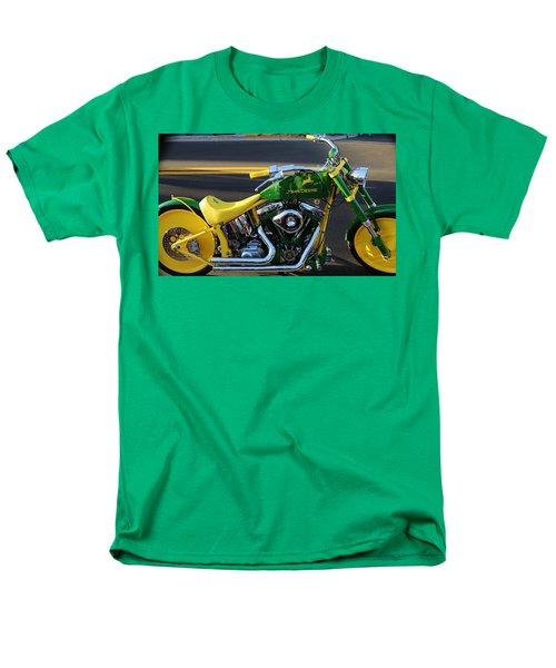 Custom Motorcycle Men's T-Shirt  (Regular Fit)