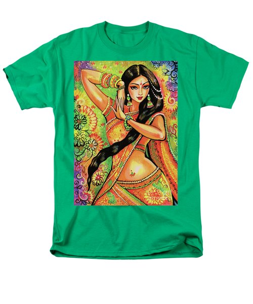 Men's T-Shirt  (Regular Fit) featuring the painting Dancing Nithya by Eva Campbell