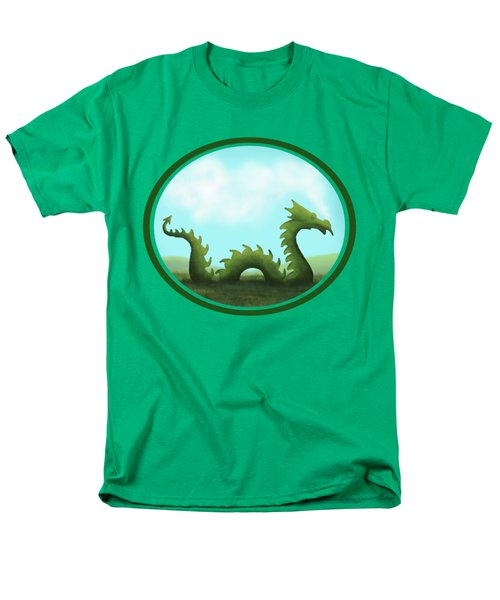 Dream Of A Dragon Men's T-Shirt  (Regular Fit) by Little Bunny Sunshine