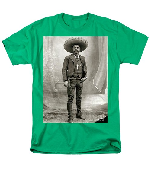 Men's T-Shirt  (Regular Fit) featuring the photograph Emiliano Zapata by Roberto Prusso