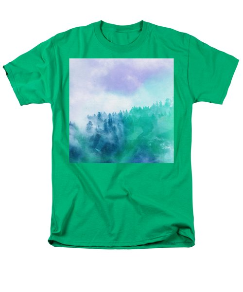 Men's T-Shirt  (Regular Fit) featuring the photograph Enchanted Scenery by Klara Acel