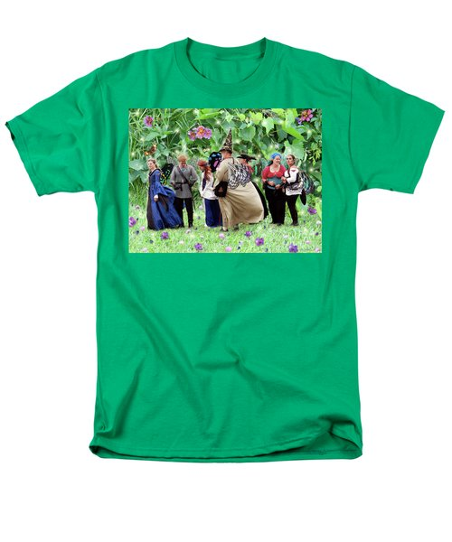 Fairy Queue Men's T-Shirt  (Regular Fit) by Lise Winne