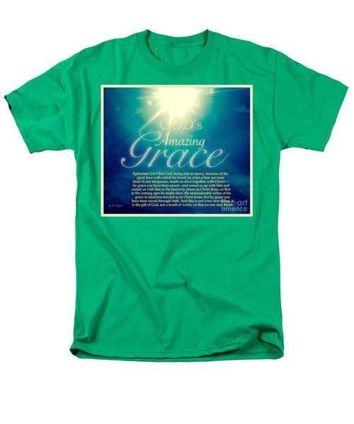 God's Amazing Gift Of Grace Men's T-Shirt  (Regular Fit) by Kimberlee Baxter