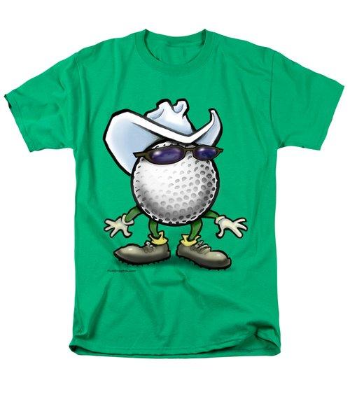 Golf Cowboy Men's T-Shirt  (Regular Fit) by Kevin Middleton