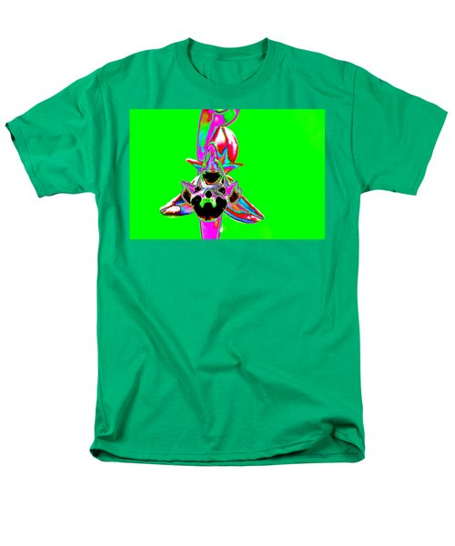 Green Bee Orchid Men's T-Shirt  (Regular Fit) by Richard Patmore