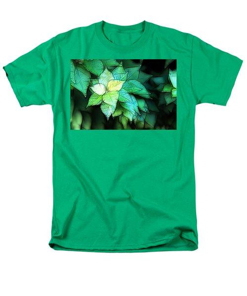 Green Leaves Men's T-Shirt  (Regular Fit) by Carol Crisafi