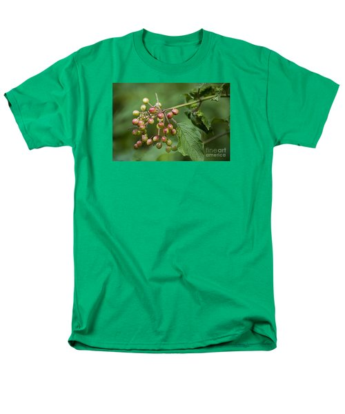 High Bush Cranberry 20120703_106a Men's T-Shirt  (Regular Fit) by Tina Hopkins