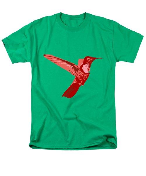 humming bird Contours Men's T-Shirt  (Regular Fit) by Keshava Shukla