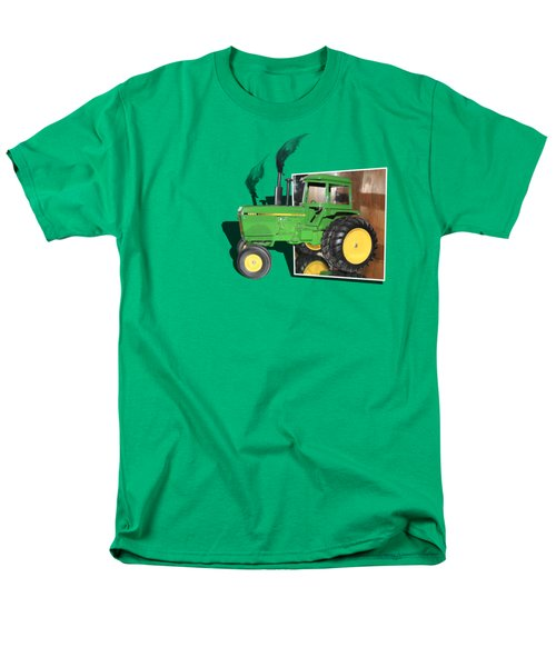 Men's T-Shirt  (Regular Fit) featuring the photograph Into The Fields by Shane Bechler