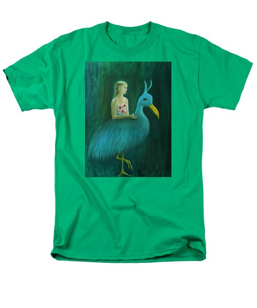 Men's T-Shirt  (Regular Fit) featuring the painting Lend Me Your Strength by Tone Aanderaa