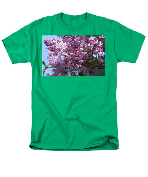 Lilacs In Bloom 2 Men's T-Shirt  (Regular Fit) by Barbara Yearty