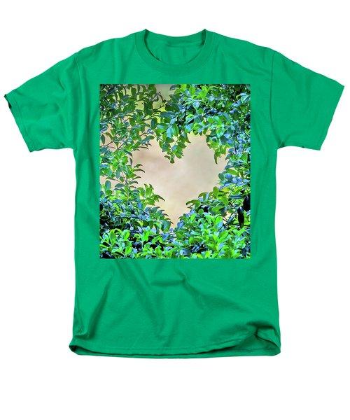 Men's T-Shirt  (Regular Fit) featuring the photograph Love Leaves by Az Jackson