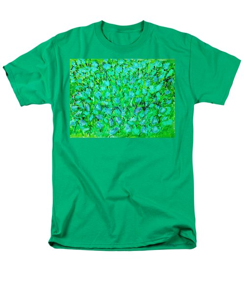 Men's T-Shirt  (Regular Fit) featuring the painting Meadow Flowers by Linde Townsend