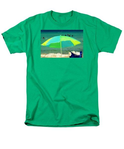 Miami Beach 3 Men's T-Shirt  (Regular Fit) by France Laliberte