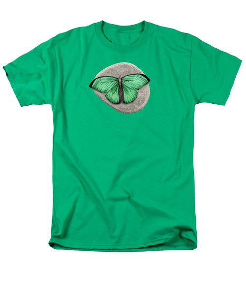 Mito Awareness Butterfly- A Symbol Of Hope Men's T-Shirt  (Regular Fit) by Sarah Batalka