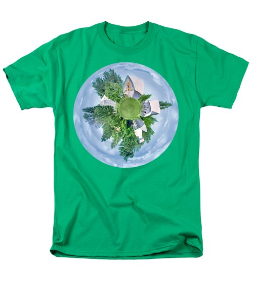 Men's T-Shirt  (Regular Fit) featuring the photograph Nebraska Farm - Transparent by Nikolyn McDonald