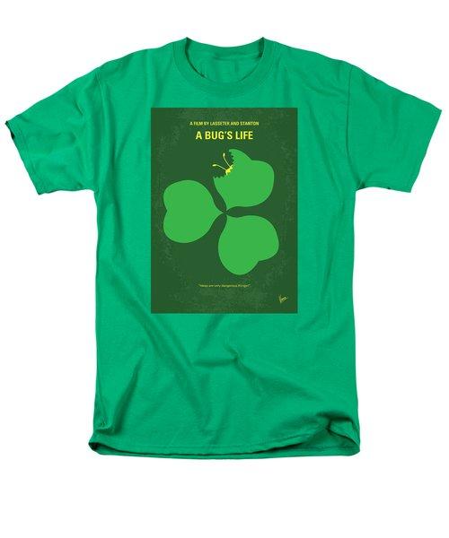 No401 My A Bugs Life Minimal Movie Poster Men's T-Shirt  (Regular Fit)