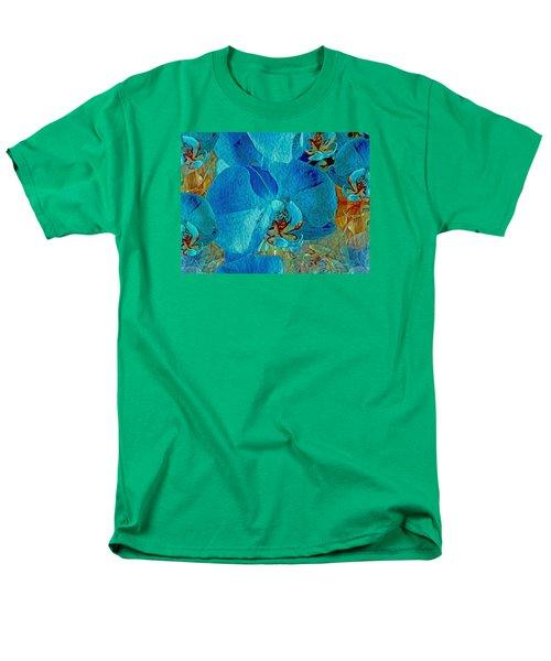 Orchid Reverie 10 Men's T-Shirt  (Regular Fit) by Lynda Lehmann