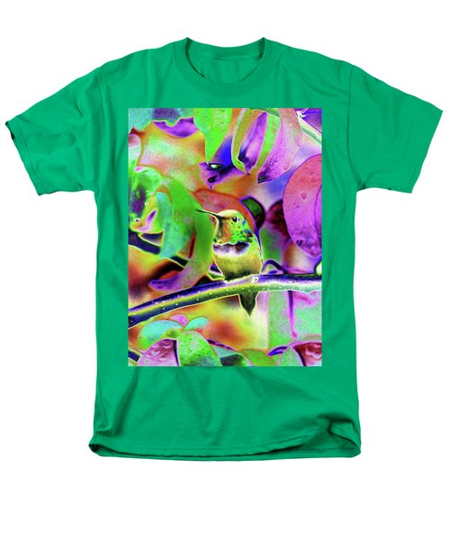Men's T-Shirt  (Regular Fit) featuring the photograph Solarized Hummer by Wendy McKennon