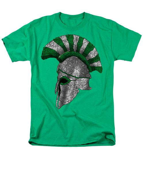 Spartan Helmet Men's T-Shirt  (Regular Fit) by Dusty Conley