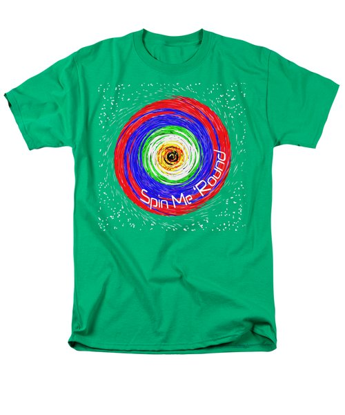 Spin Me 'round Men's T-Shirt  (Regular Fit) by Methune Hively