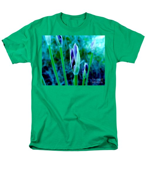 Men's T-Shirt  (Regular Fit) featuring the photograph Spring Erupting Early by Marsha Heiken