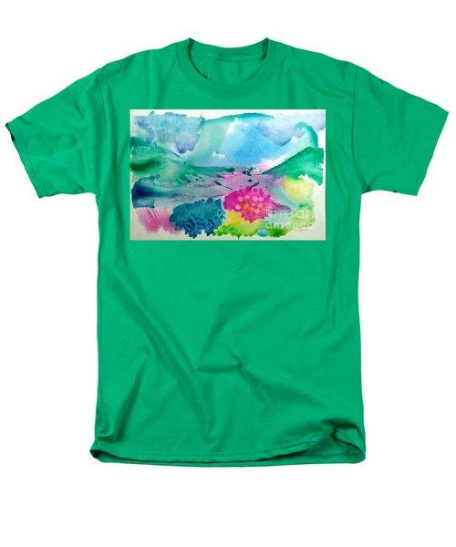 Summer Storm Men's T-Shirt  (Regular Fit) by Lynda Cookson