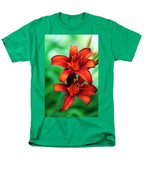 Tawny Beauty Men's T-Shirt  (Regular Fit) by Debbie Oppermann